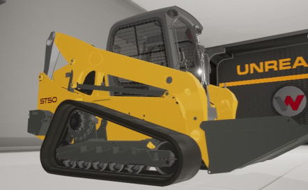 ST50 Skid Steer Virtual Prototype