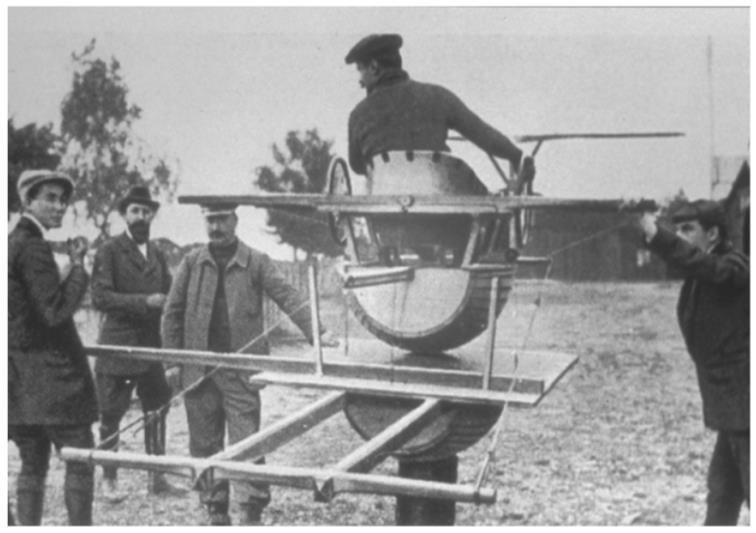 Early Flight Simulator